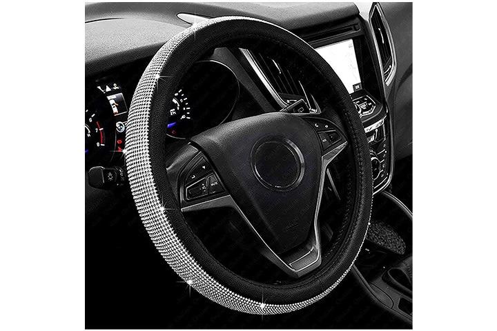 ChuLian Bling Bling Diamond Steering Wheel Cover