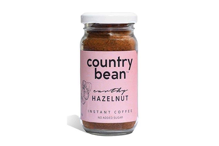 Country Bean Earthy Hazelnut Instant Coffee
