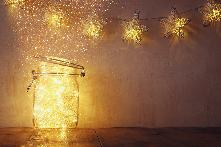 Create fairy jars