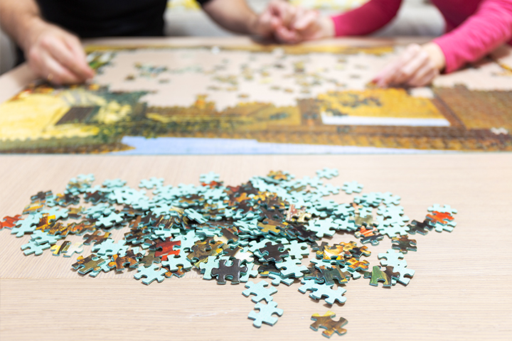 Do a puzzle together