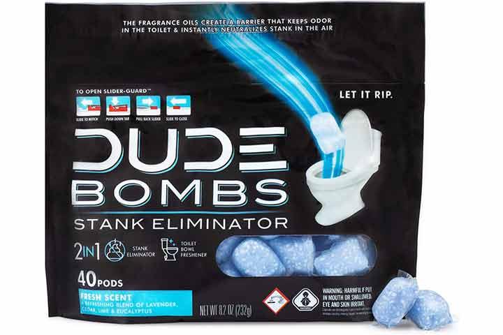 Dude Deodorizing Toilet Freshener