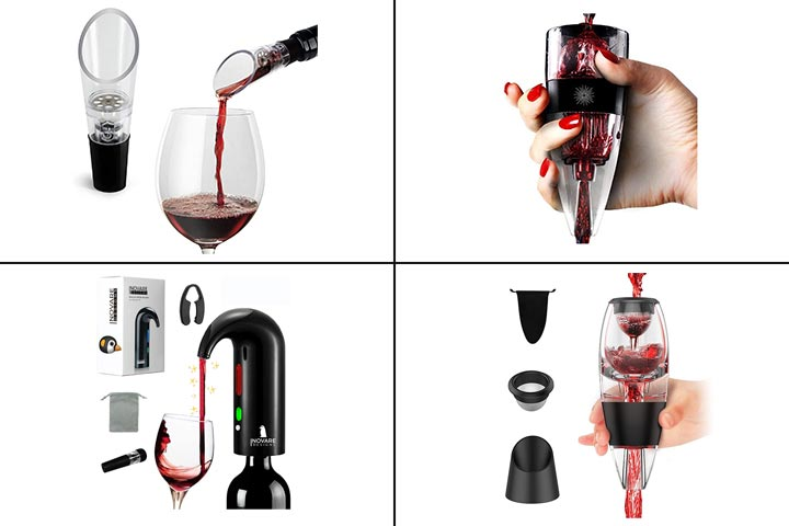 Enjoy Delectable Wine With The 13 Best Wine Aerators Of 2021-1