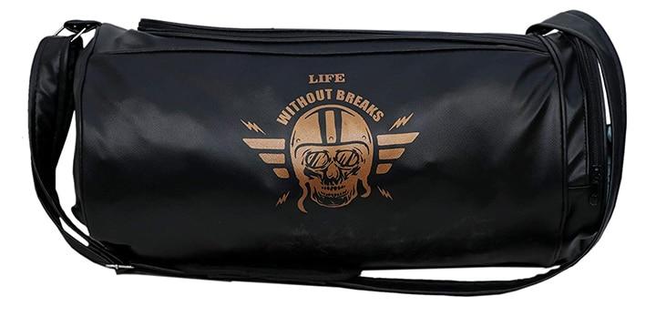 Fashion7 Stylish Printed Leather Gym Bag