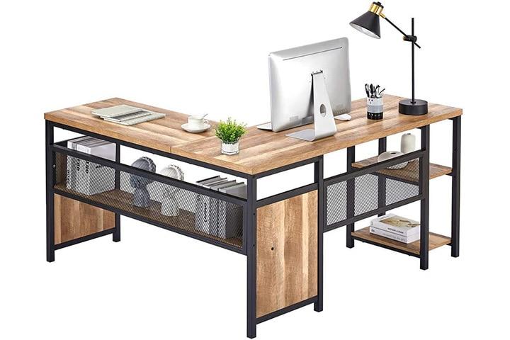 Fatorri L-Shaped Computer Desk
