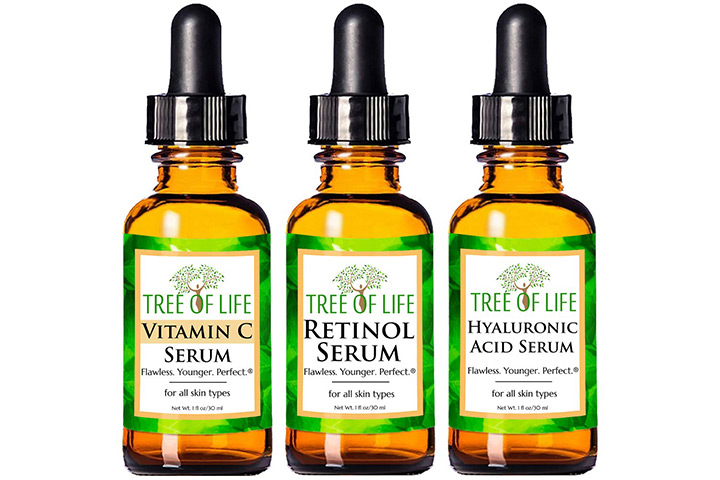 Flawless. Younger. Perfect Tree Of Life Serum