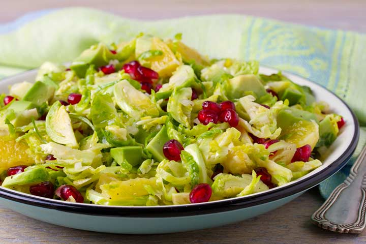 Fruit and veggie salad