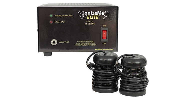 Health and Med Ionize Me Elite Ionic Detox Foot Bath