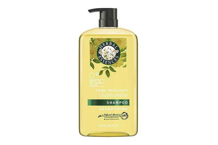 Herbal Essences Shine collection shampoo