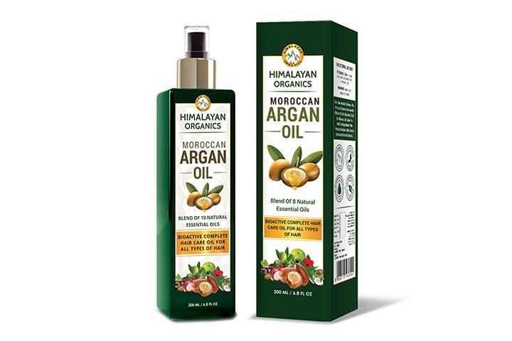 Himalayan Organics Moroccan Argan Oil