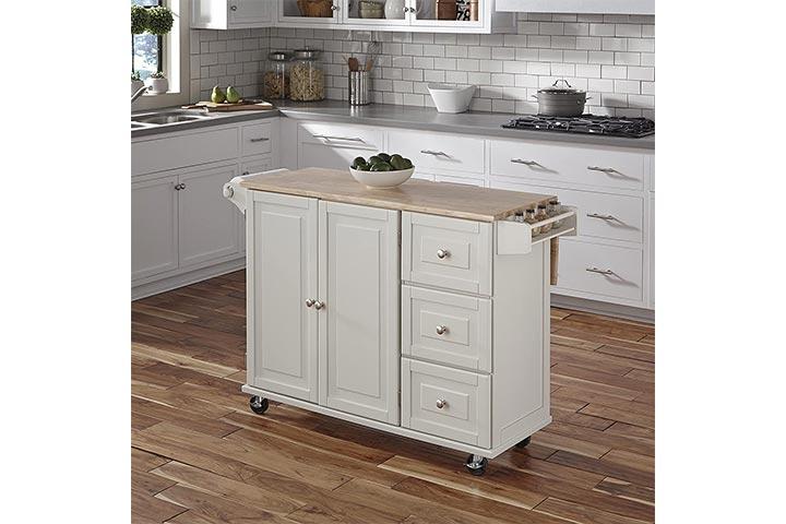 Home Styles Liberty Kitchen Cart