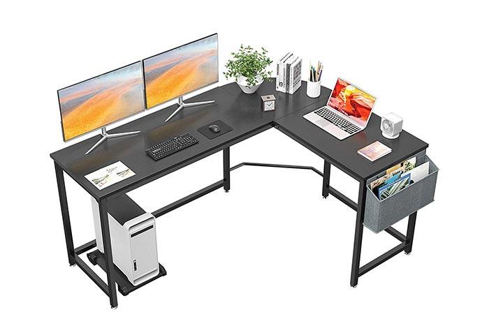 Homfio Computer Corner Desk Gaming Desk