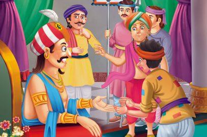 तेनालीराम और झगड़ालू चमेली की कहानी   Jhagdalu Chameli Ki Kahani in Hindi