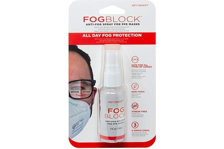 Key Smart Fog Block Anti-Fog Spray For PPE Masks