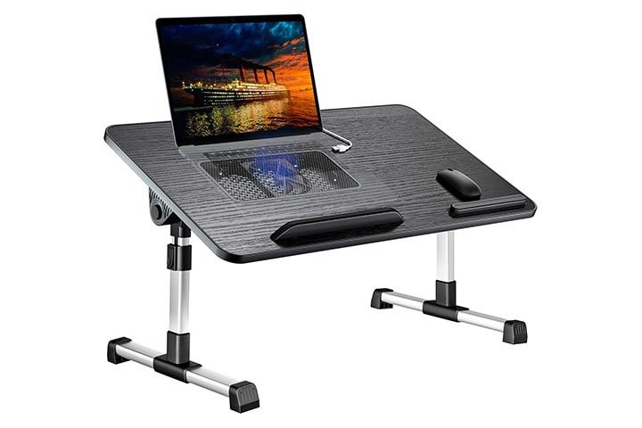 LEEHEE Gaming Lap Desk With USB Cooling Fan