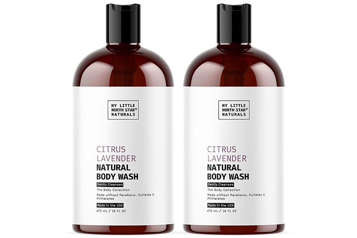 Little North Star Organic Body Wash