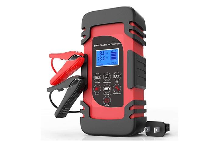 Luoges 12V24V Automotive Battery ChargerMaintainer