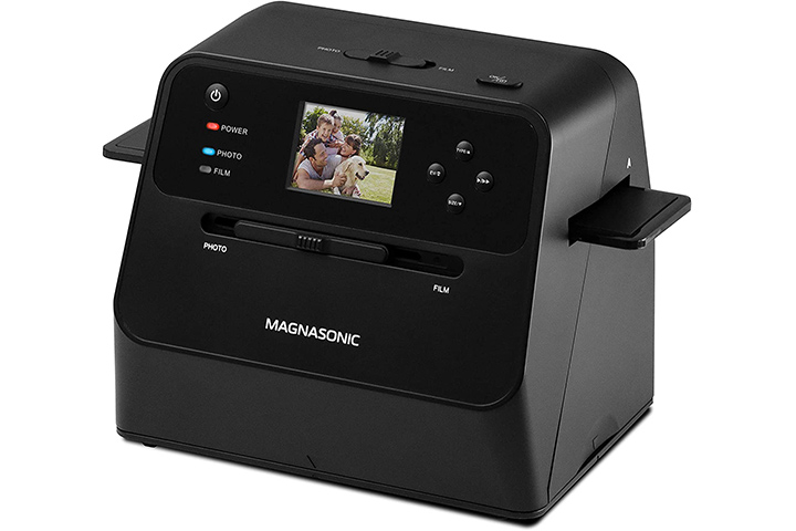 Magnasonic All-In-One Film And Photo Scanner