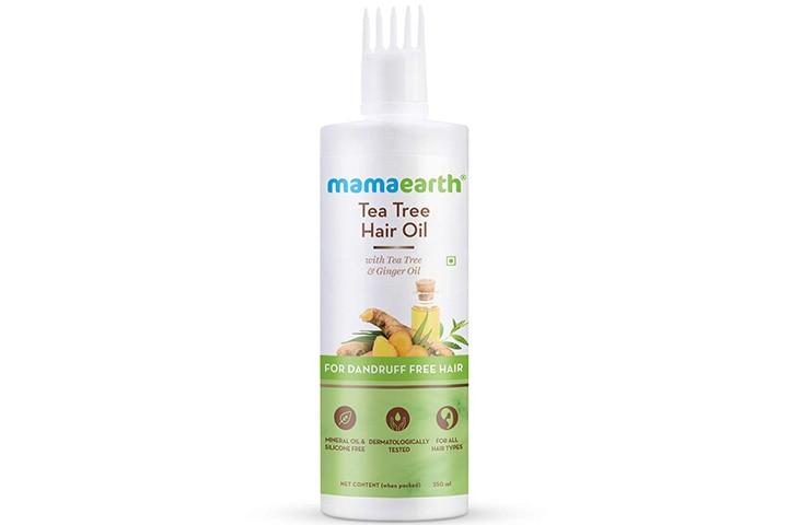 Mamaearth Tea Tree Anti- Dandruff Hair Oil