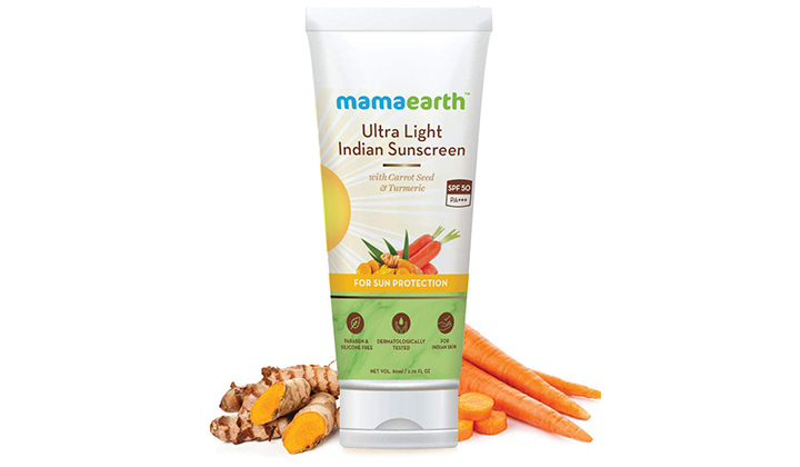 Mamaearth's Ultra-Light Indian Sunscreen