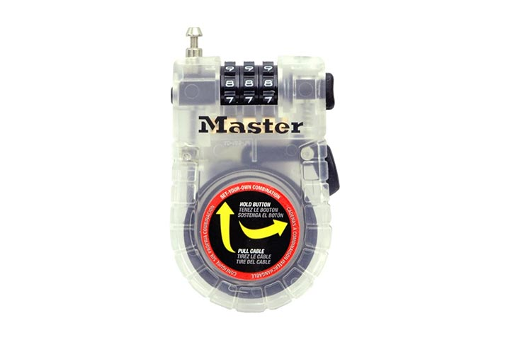 Master Lock cable lock