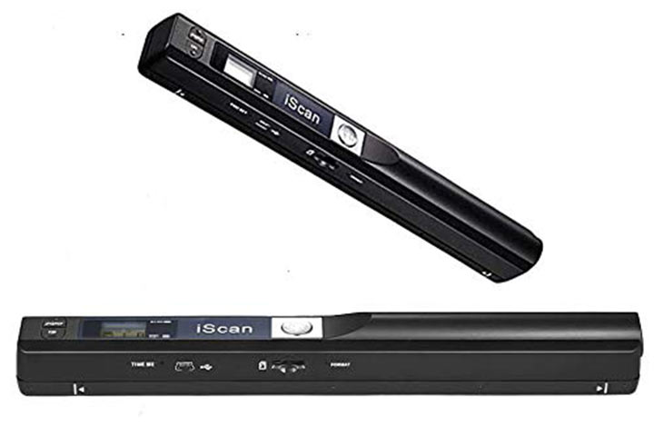 Microware iScan Wireless Document And Image Scanner