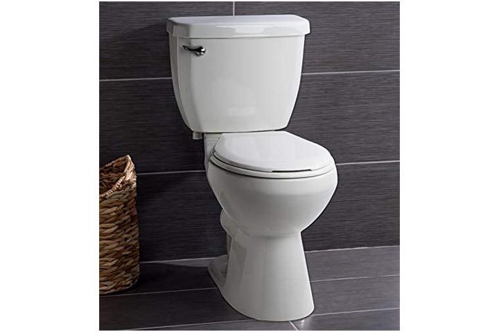 Miseno Two-Piece High-Efficiency Round Toilet