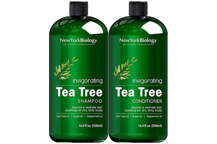 New York Biology Tea Tree Shampoo And Conditioner Set