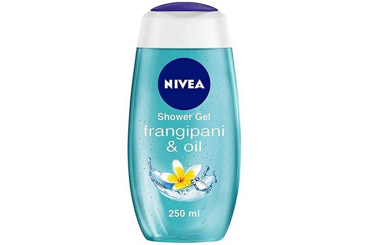 Nivea Frangipani & Oil body wash