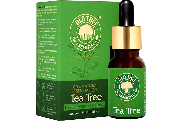 Old Tea Tree Essential Oil For Skin, Hair, And Acne Care