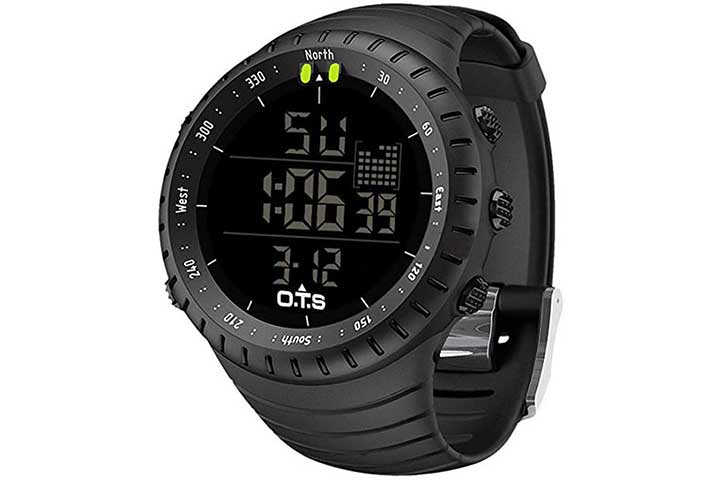 Palada Men's Digital Sports Watch