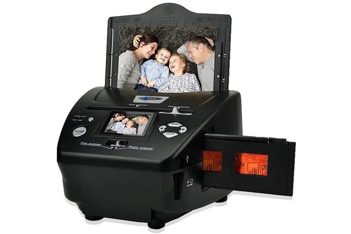 QPIX Digital Photo Slide And Film Scanner