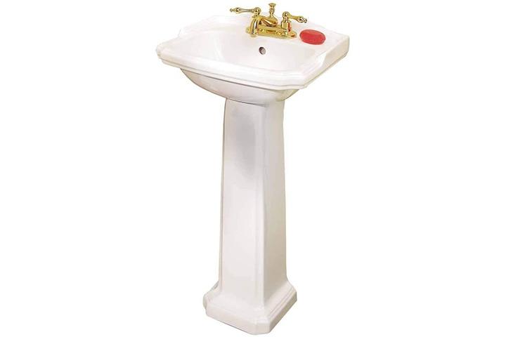 Renovators Supply Manufacturing Pedestal Sink