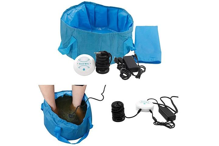 Sdyfu Massage Apparatus Ionic Detox Foot Spa