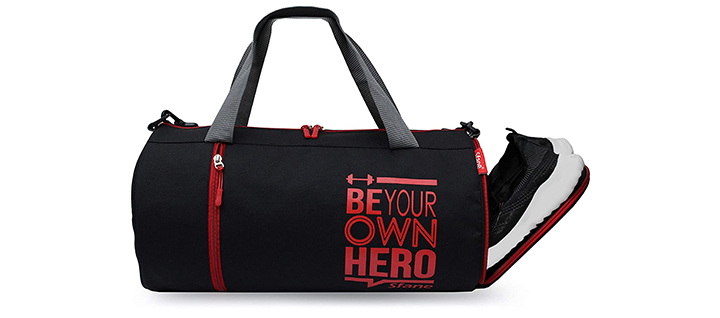 Sfane Polyester Duffle Gym Bag For Men And Women