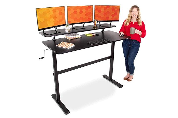 Stand Steady Tranzendesk 55 in Standing Desk