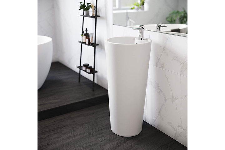 Swiss Madison Well Made Forever Pedestal Sink