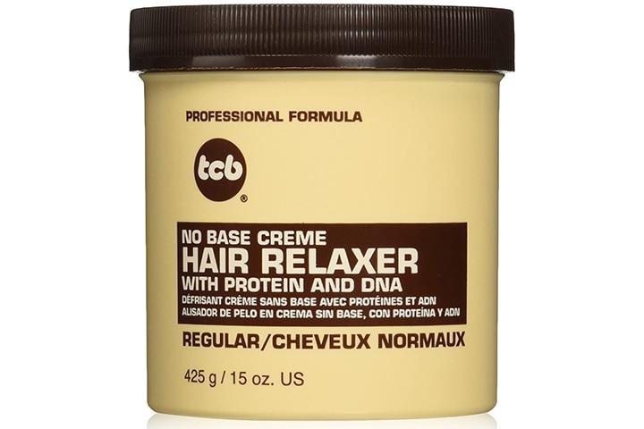 TCB No Base Creme Hair Relaxer