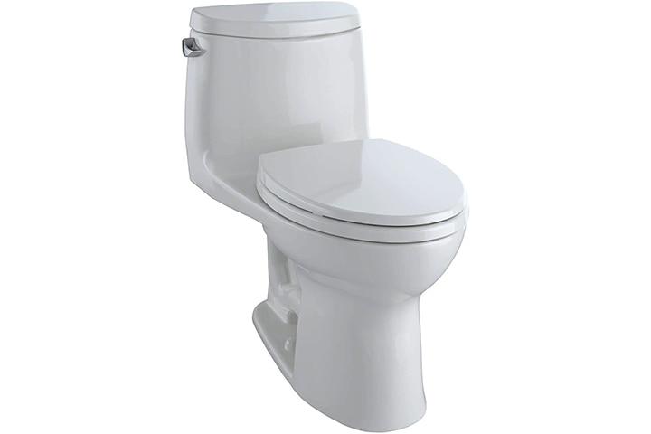 TOTO Aquia IV Elongated Dual Flush Ceramic Toilet