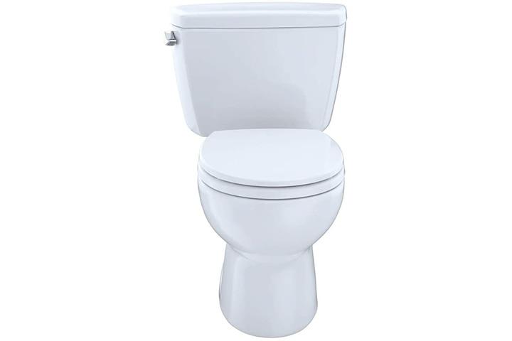 TOTO TOTAL DESIGN Eco Drake Two-Piece 1.28 GPF Round Toilet