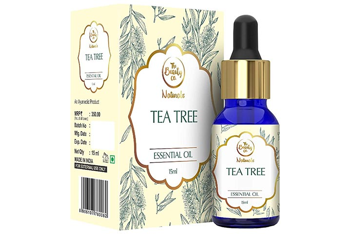 The Beauty Co. Tea Tree Oil For Acne And Blemish-Free Skin