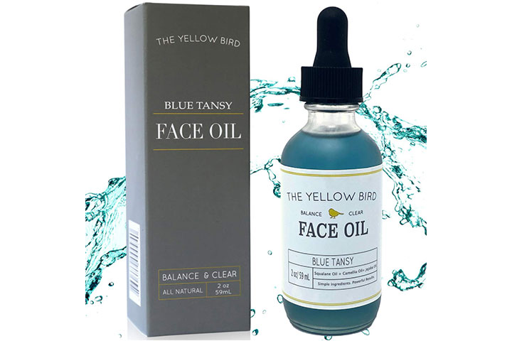 The Yellow Bird Blue Tansy Face Oil