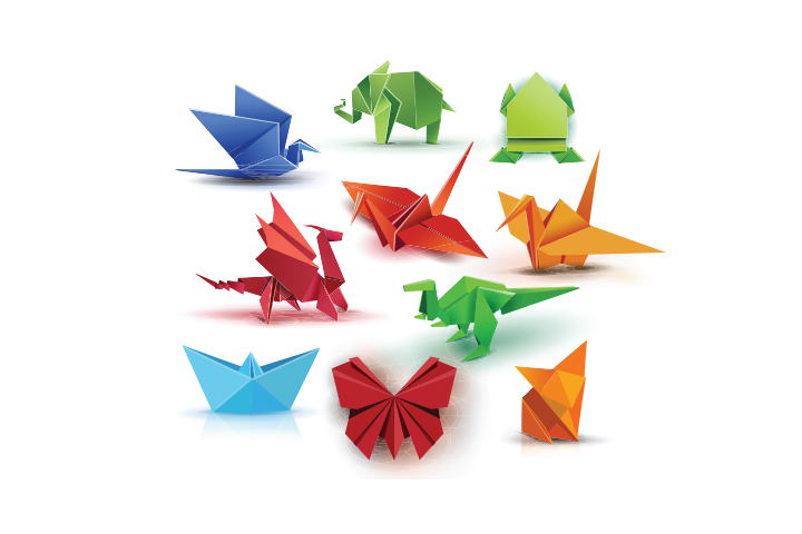 Try origami