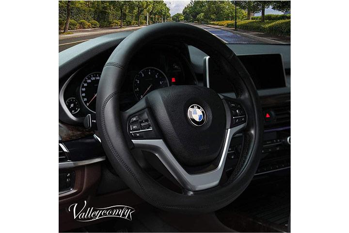 Valleycomfy Steering Wheel Cover