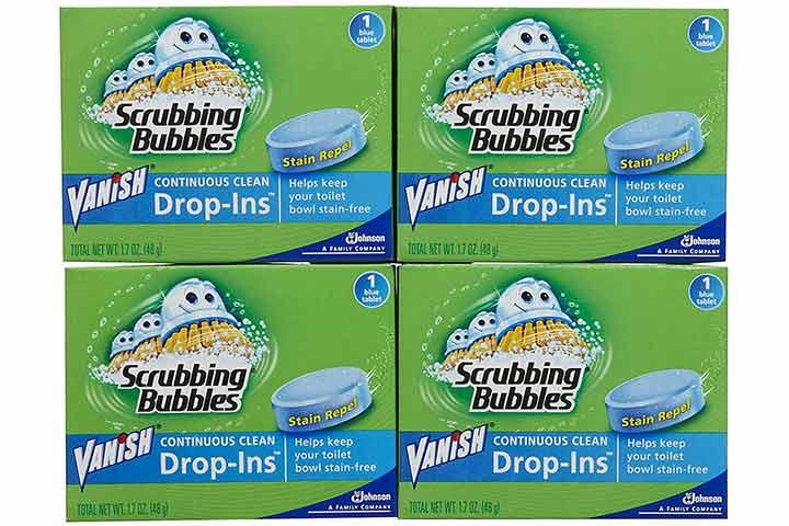 Vanish Scrubbing Bubbles Drop-Ins