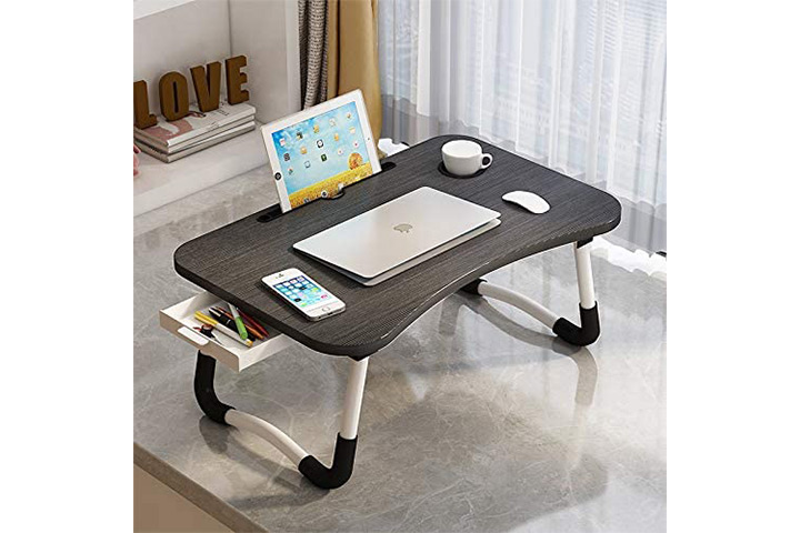 VebaCidi Lap Desk With Pull-Out Drawer