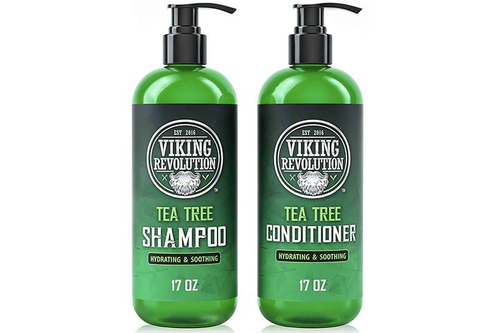 Viking Revolution Tea Tree Shampoo And Conditioner Set