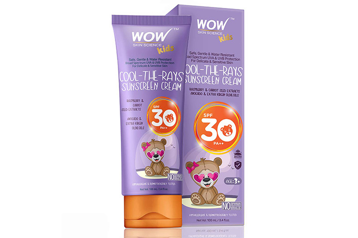 Wow Kids Sunscreen Cream