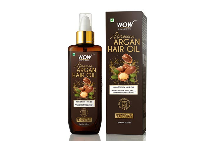 Wow Skin Science Argan Hair Oil