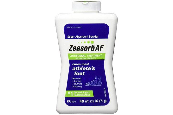 Zeasorb Antifungal Powder Treatment