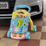 Toyshine Musical  Push and Pull Toy Activity Baby Walker-Attractive and cute walker-By trupti_kirad